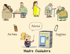 madre cuidadora icon