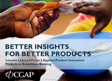 Applied Product Innovation in Branchless Banking